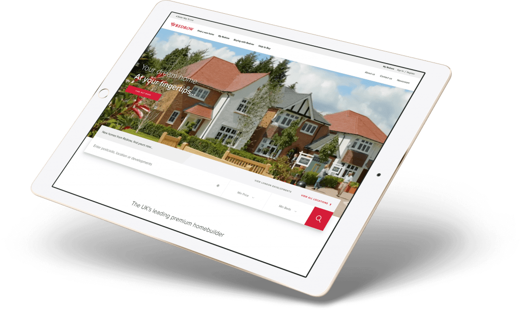 Redrow Hero IPad